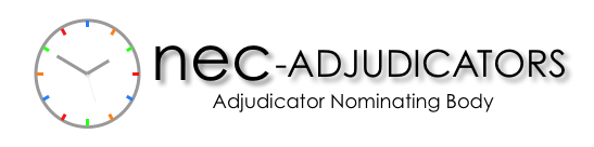 NEC-adjudicators.org | Adjudicator Nominating Body